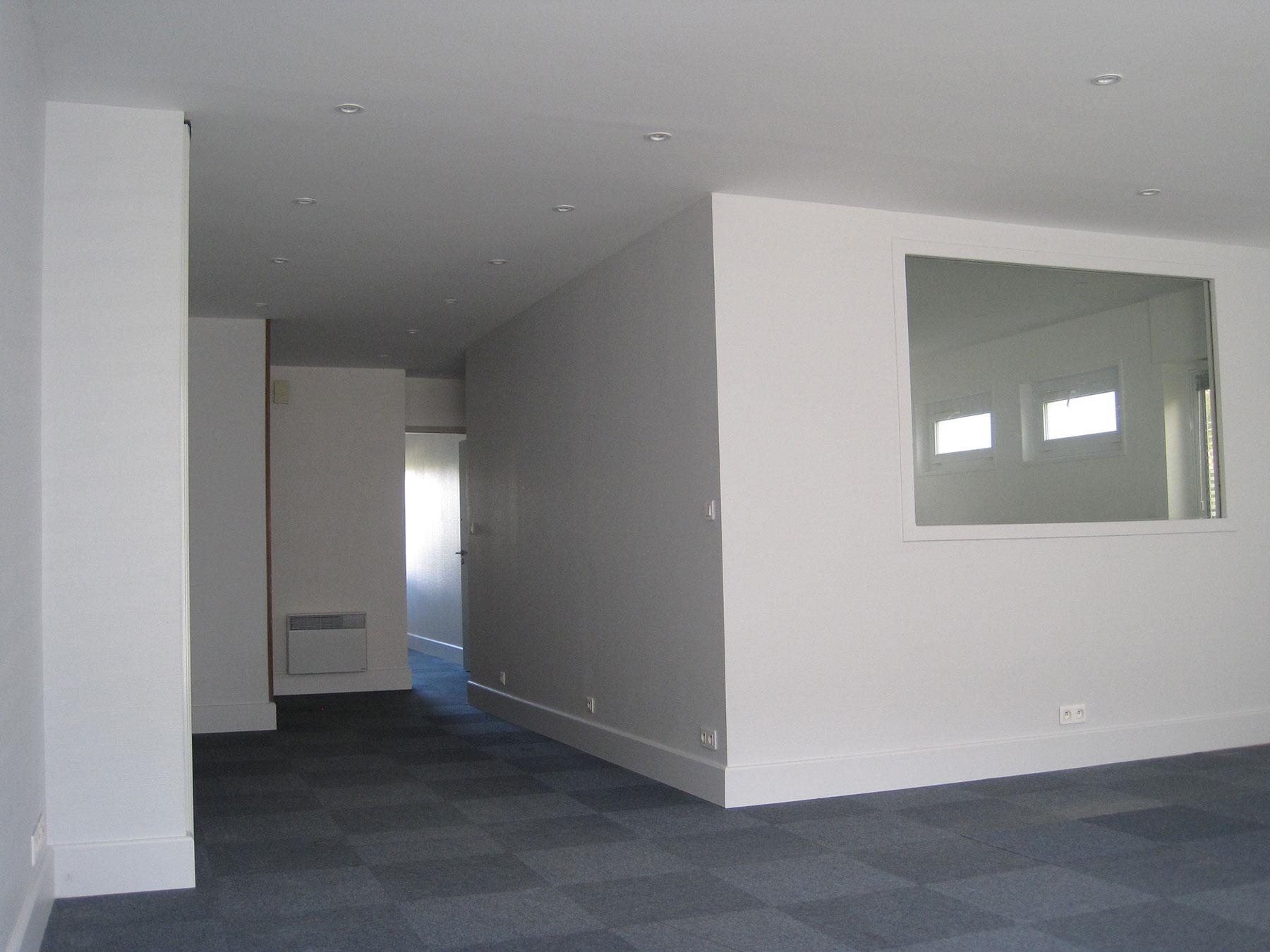 Bureaux La Rochelle – Rue du Rempart Saint-Claude – 105 m²