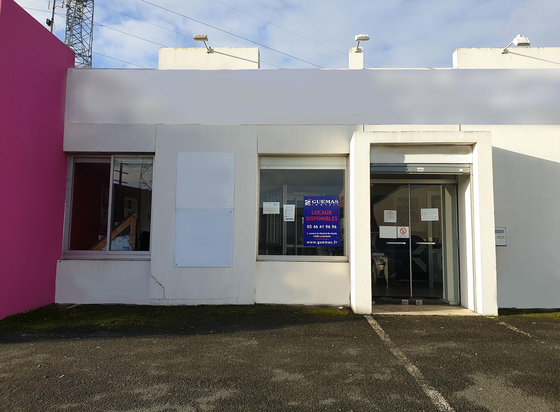 Locaux commerciaux – Puilboreau – 108 m²
