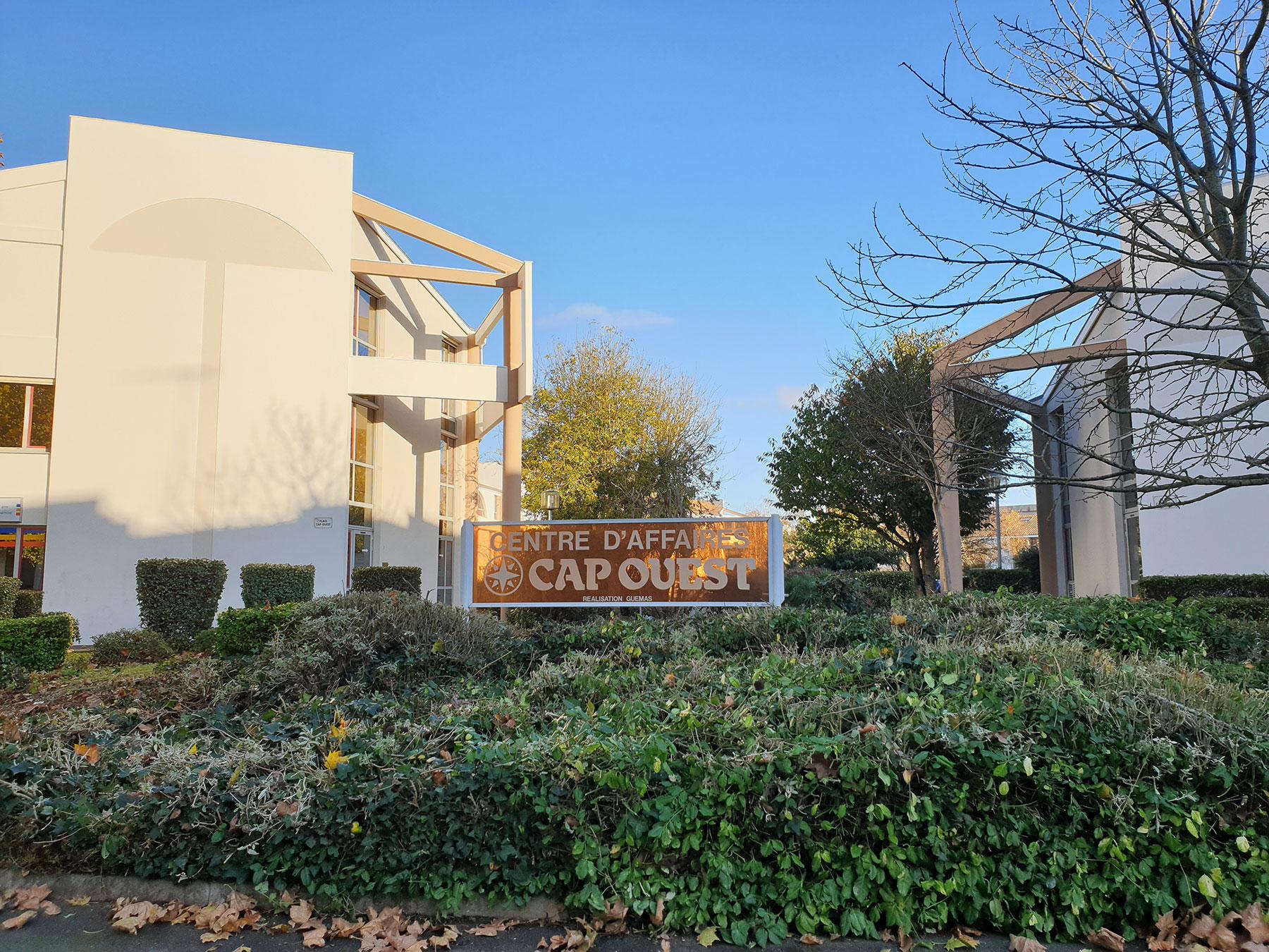 Bureaux La Rochelle – Centre d'affaires Cap Ouest – 60 m²